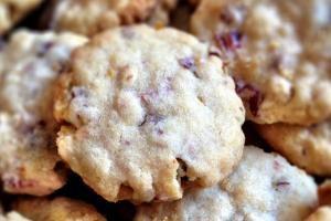 Vegan cranberrycookies